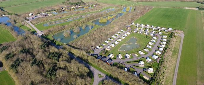 Eye Kettleby Lakes Aerial Site