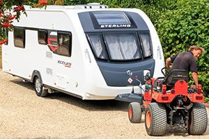 Valet parking service at Bath Chew Valley Caravan Park