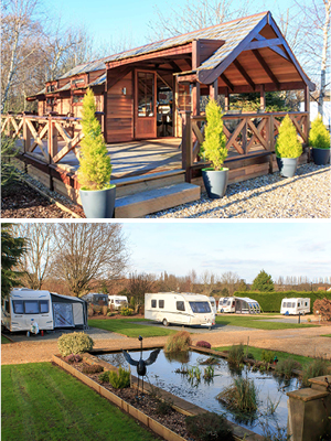Bath Chew Valley Caravan Park luxury lodge and pitches