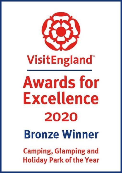 Visit England Awards for Excellence 2020 Bronze Winner