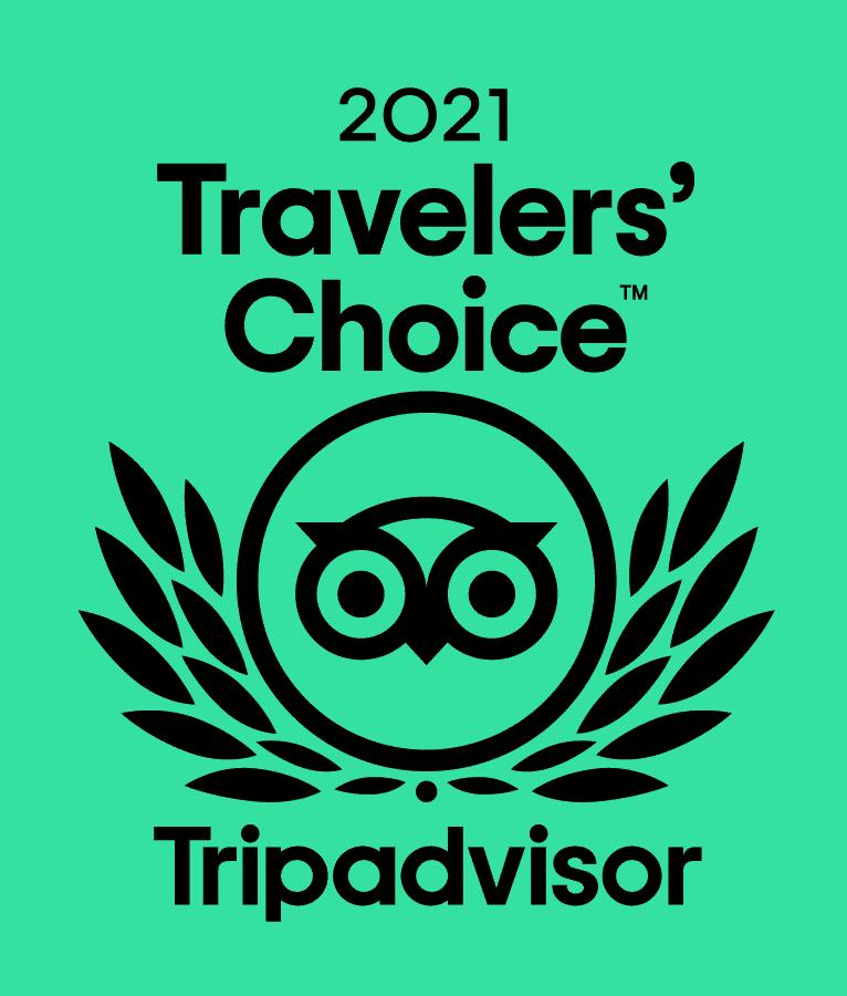 Trip Advisor 2021 Travelers' Choice
