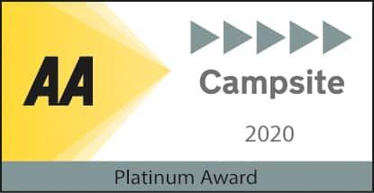 AA Campsite 2020 Platinum Award