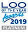 Loo of the year 2019 PLATINUM