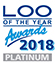 Loo of year 2018 Platinum