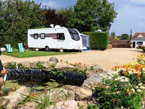 Valet Parking at Bath Chew Valley Caravan Park