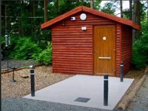 Somers Wood Caravan Park special building