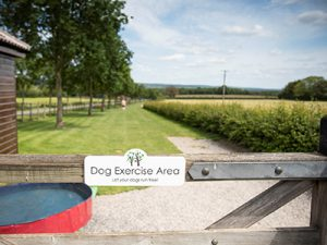 Old Oaks Touring camping & Glamping dog exercise area