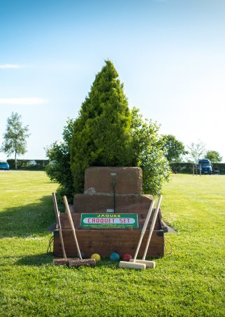 Green Acres Caravan Park croquet