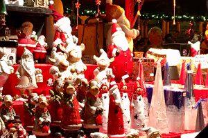 Christmas stall and Birmingham Christmas Market