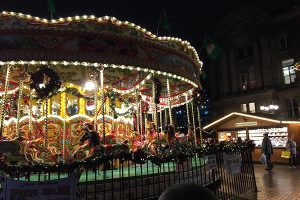Carousel at Brimingham German Christmas Market