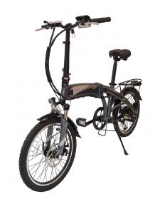 A folding electric bike